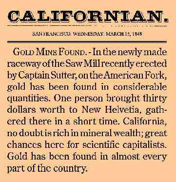 research papers on california gold rush The gold rush essaysthe reshaping of california through the gold rush the california gold rush affected not only california, but also the entire outcome of our nation.